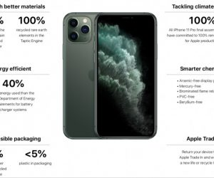 蘋果好綠 iPhone 11 組裝使用 100% 綠能