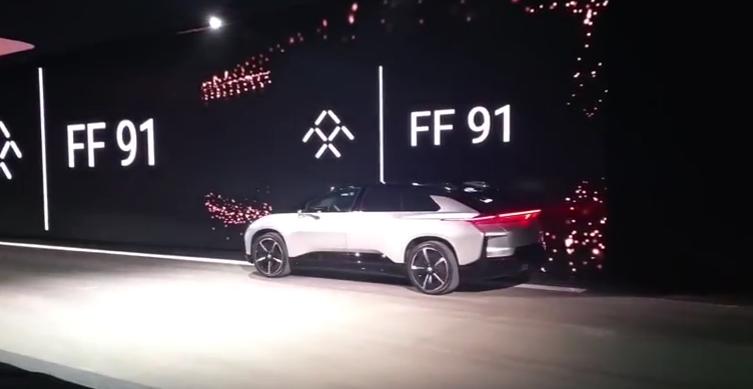 樂視電動車「FF91」亮相,預計2018開始交車