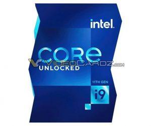 Intel Core i5-11600K 跑分首次現身,單核效能提升不少,第 11 代 Core i9 新包裝設計也同步亮相