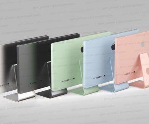 國外大神爆料 iMac 將推出多款顏色選擇,還有一款 Mac Pro Mini 新機種