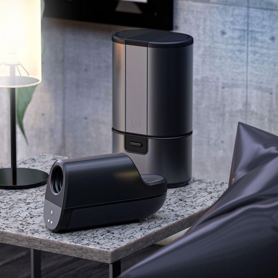 男性愉悅黑科技 德國 ARCWAVE Ion 氣流式震動飛機杯嘖嘖上架_包裝設計