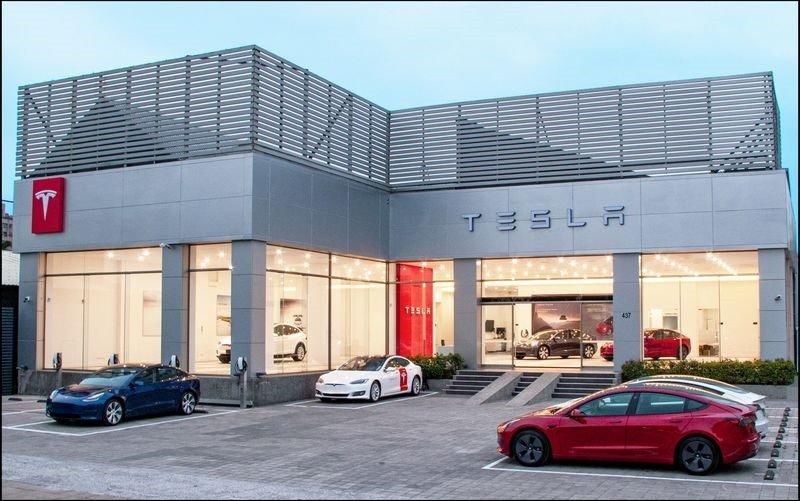 特斯拉高雄服務體驗中心 Tesla Center 開幕,Model 3 白色內裝現貨車下週開放現場預定_網頁設計公司