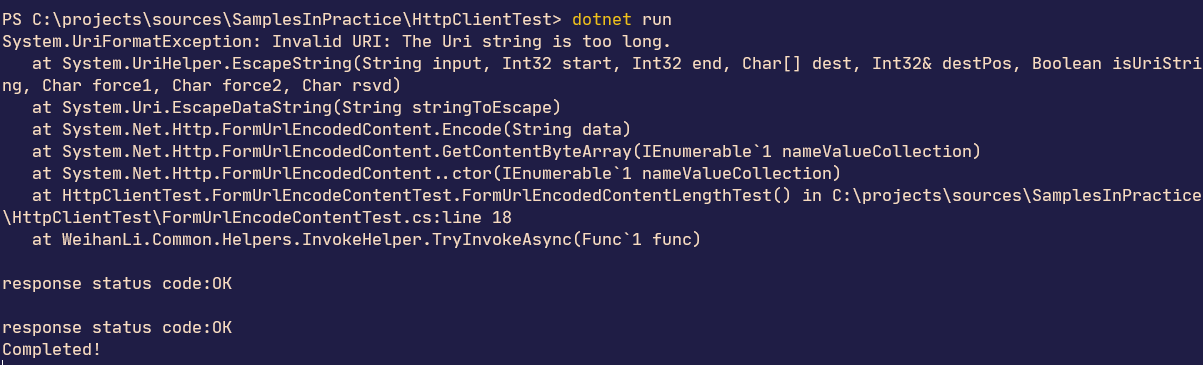 小心 HttpClient 中 FormUrlEncodeContent 的 bug_網頁設計公司