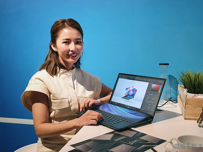 ASUS ZenBook、VivoBook、Chromebook、ExpertBook多款筆電亮相,ProArt 外接螢幕延伸你的工作台_網頁設計