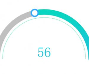 可拖拽圓形進度條組件(支持移動端)