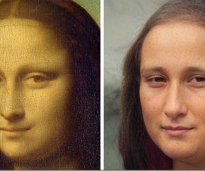 真實世界的蒙娜麗莎?藝術家用AI技術「重現」經典名畫 體現現實與想像的差距_台中搬家