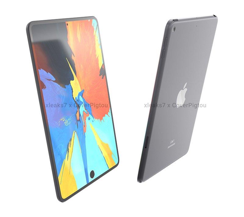 疑似 iPad mini 6 渲覽圖現身!採相機挖孔、螢幕下 Touch ID 技術_貨運