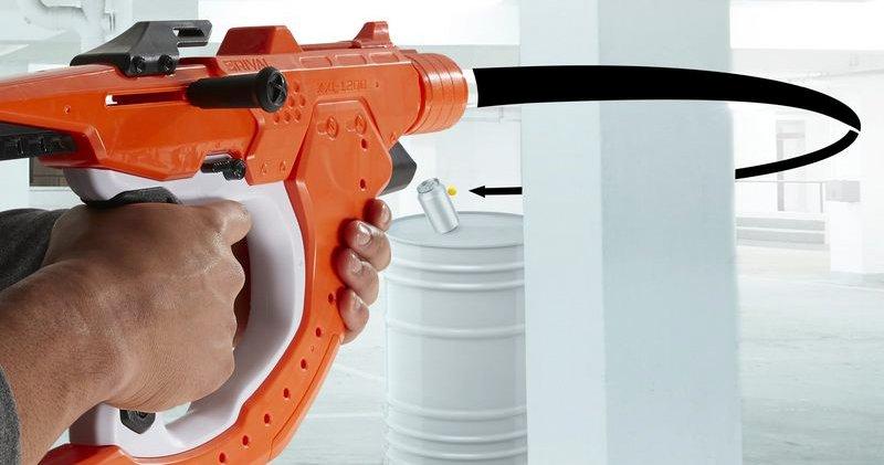 子彈真的能轉彎!Nerf 新玩具槍能射出《刺客聯盟》超炫槍法_網頁設計公司